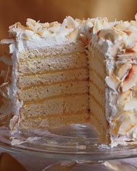 Six-Layer Coconut Cake with Passion Fruit Filling Recipe from Food & Wine