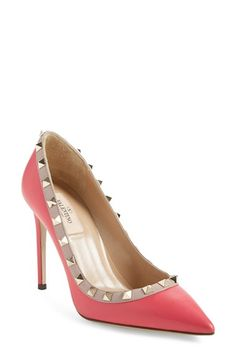 63b067ae27d Free shipping and returns on Valentino  Rockstud  Pump (Women) at Nordstrom.