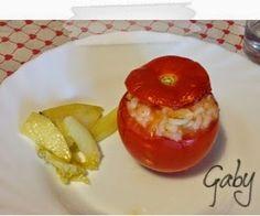 Mezza tazza di tè: Pomodori con riso alla romana... e patate