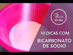 10 DICAS COM BICARBONATO DE SÓDIO - A Dica do Dia - YouTube