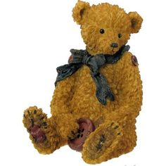 Boyds Bears Tattered Treasures Resin Teddy Bear Figurine There For You