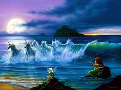 Image detail for -TOTAL Wallpapers - Fairies Mermaids and Unicorns Wallpapers