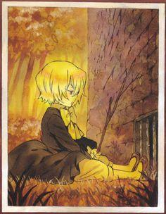Tags: Scan, Pandora Hearts, Vincent Nightray, Mochizuki Jun, Official Art, Index Page