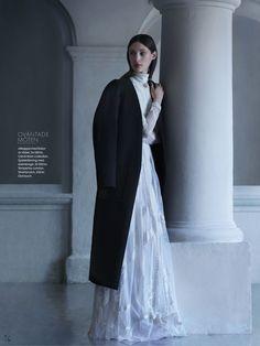 visual optimism; fashion editorials, shows, campaigns & more!: balladen om marie: franzi mueller by julia hetta for elle sweden september 2013