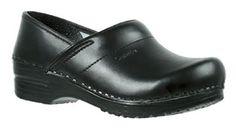 Sanita 'Professional Smooth' Flexible Closed Clogs (Art: 1500006) - Black 42 - Clogs für frauen (*Partner-Link)