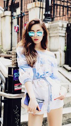 Nana for bnt international magazine after school fashion, ko Ulzzang Fashion, Asian Fashion, Kpop Fashion, Nana Afterschool, Im Jin Ah Nana, Style Outfits, Summer Outfits, Jong Suk, Lee Jong