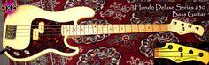 Hondo Deluxe Series 830 Bass Guitar