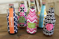 Personalized koozies would make a cute stocking stuffer
