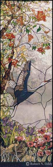 Amazing panel with crane