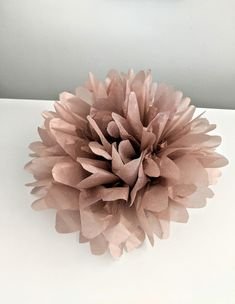Excited to share the latest addition to my shop: Metallic Rose Gold Tissue Paper Pom Pom Flowers, New Years Eve Decor, Graduation, Winter Weddings & Engagement Party Decorations Decor New Years Eve Decorations, Summer Wedding Decorations, Engagement Party Decorations, Pom Pom Flowers, Balloon Flowers, Pom Poms, First Birthday Decorations Girl, Girl First Birthday, 1 Rose