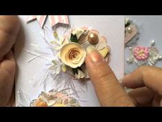Embellishing Crazy Patch 1 with Gloria McKinnon - YouTube