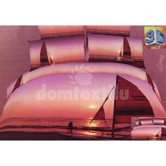 Posteľné obliečky fialovej farby so západom slnka Outdoor Gear, Opera House, Tent, Clouds, Building, Home Decor, Store, Decoration Home, Room Decor