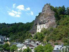 Eglise dans la roche à Idar Oberstein en Allemagne