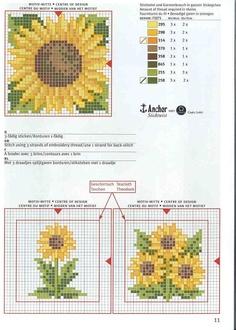 Cross-stitch Sunflowers Biscornu...   Gallery.ru / Фото #9 - 40 - ZinaidaR(DMC726,928,741,434,433,730,907,904)