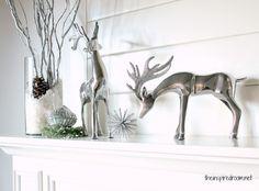mantel christmas decoration