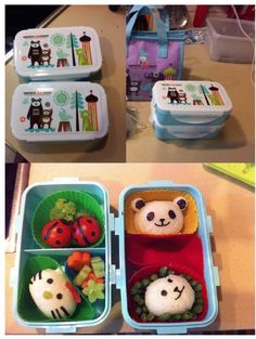 isak - beautiful happy things: Circus lunch box fun!