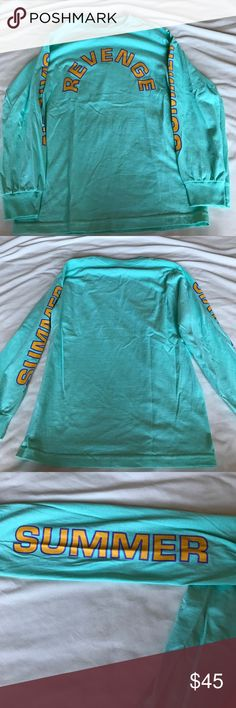 Limited edition summer sixteen tour long sleeve Limited edition drake summer sixteen tour long sleeve shirt. Never worn Tops Tees - Long Sleeve