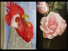 Dictionary Journal Page Challenge - Rooster Click to view Video