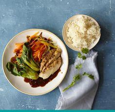 Asiatisches Hähnchen mit Reis Rezept - [ESSEN UND TRINKEN]