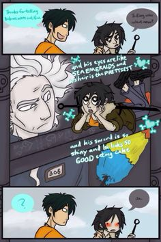 Aaaawwwh <3 :D I can so imagine this....as we all know it was Nico who send Bob to help Percy in Tartarus....the feels..