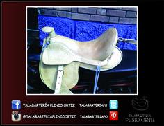 Silla de vaquería. #Talabartería #Cuero #silla #Caballo #Vaquería #Leather #Saddle #Horse #TalabarteríaPlinioOrtiz
