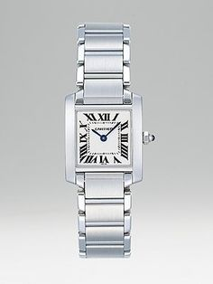 Cartier  Tank Francaise Stainless Steel Watch on Bracelet, Small $4100