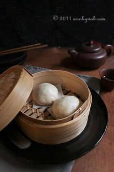Chinese Steamed Pork Buns/ Baos Recipe - 菜肉包 with Step-by-Step Photos   Smoky Wok