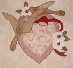 Vintage Valentine Quilt blocks - started this - and it's another set of blocks I need to finish.