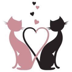 The Love Cats by summer The Love Cats by summer The post The Love Cats by summer appeared first on Katzen. Cat Quilt, Cat Silhouette, Cat Stickers, 5d Diamond Painting, Cat Tattoo, Cat Drawing, Cat Love, Rock Art, Cat Art