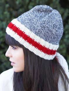 Work Sock Hat | Yarn | Free Knitting Patterns | Crochet Patterns | Yarnspirations