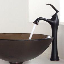 Bathroom Faucets Wayfair bathroom faucets - finish: black-bronze-copper, mount: centerset