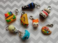 Clay charms