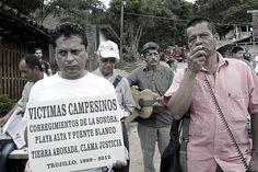 Calle de las víctimas. Crédito Rodrigo Grajales.