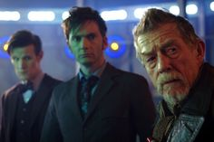 """Three Doctors collide on """"The Day of the Doctor"""""""