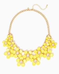 charming charlie | Daisy Blossom Necklace | UPC: 410007549752 #charmingcharlie