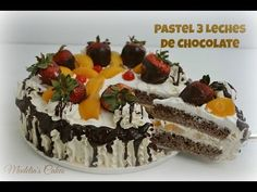 Pastel De 3 Leches De Chocolate Poroso y Exquisito! - YouTube