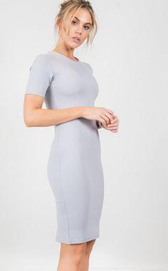 Showpo Team Player dress in grey - 14 (XL) Longer Dresses