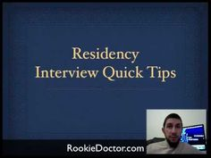 Residency Interview Questions You Will Be Asked - YouTube