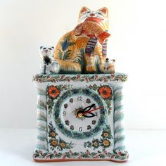 Clock, Painting, Watch, Painting Art, Clocks, Paintings, Painted Canvas, Drawings