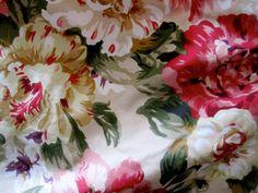 RALPH LAUREN QUEEN Bedskirt floral vintage pattern Ralph