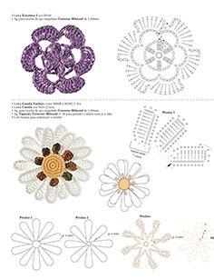 פרחים סרוגים p. 1