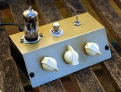 """In an amongst the guitar building I decided to break out the soldering iron to build an overdrive pedal – as light relief. I had stumbled across the """"Valvecaster"""" schematic and la…"""