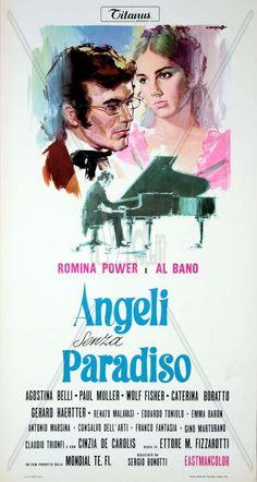 """Angeli senza paradiso"" (1970). Country: Italy. Director: Ettore Maria Fizzarotti. Cast: Albano, Romina Power, Agostina Belli, Caterina Borato"