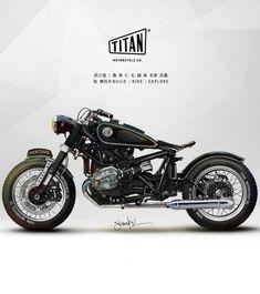 Retro Motorcycle, Motorcycle Types, Cafe Racer Motorcycle, Motorcycle Design, Bmw Motorbikes, Motos Bmw, Bmw Motorcycles, Bmw Scrambler, Bmw Boxer