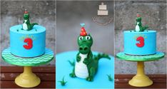 crocodile cake :) by Sylwia