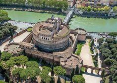 Castel Sant'Angelo, Ponte Sant'Angelo e Il Tevere a Roma