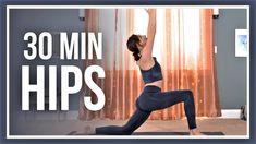 30 min MORNING Yoga for Hips - DEEP STRETCH NO PROPS Yin Yoga, Yoga Meditation, Free Yoga Videos, Yoga Youtube, Morning Yoga, Vinyasa Yoga, Yoga Flow, Yoga Challenge, Yoga For Beginners