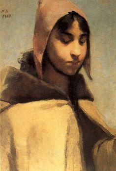 Helene Schjerfbeck - French Peasant Girl