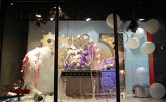 Harvey Nichols windows at KnightsBridge 2013 London #VisualMerchandising