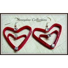 Valentine Special Red Heart Earring